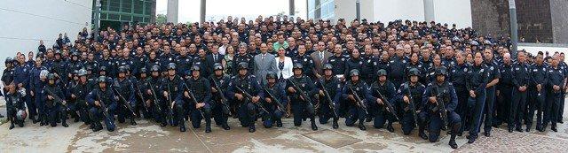 ¡Mejora el alcalde Juan Antonio Martín del Campo condiciones operativas de la Policía Municipal!