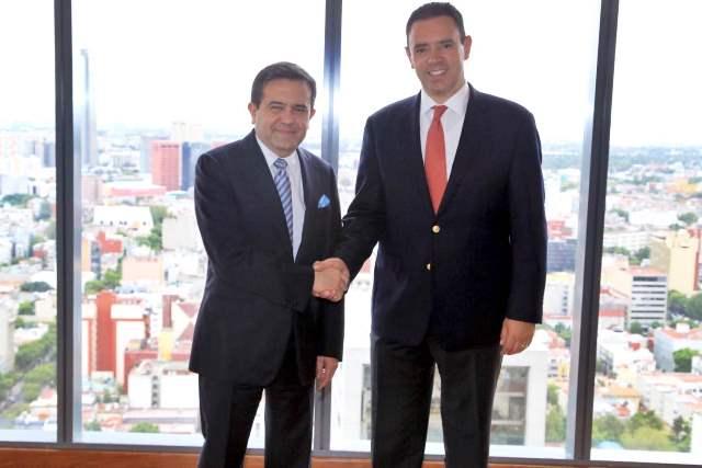 ¡Acuerdan Alejandro Tello y Secretario de Economía fortalecer el desarrollo económico de Zacatecas!
