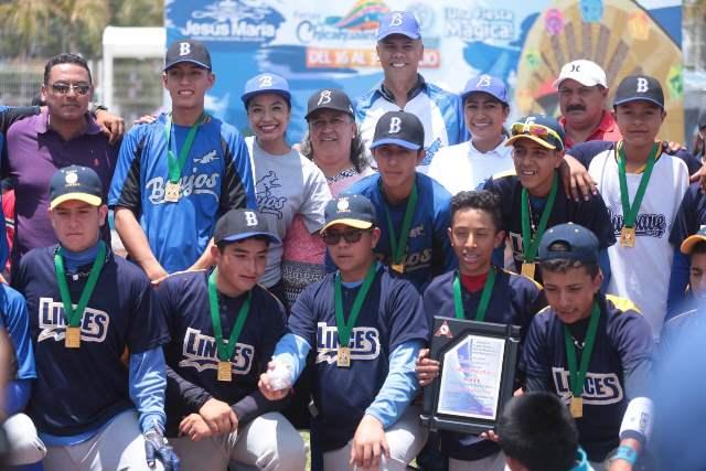 ¡Brujos de Jesús María campeones del Torneo Nacional Juvenil de Béisbol!