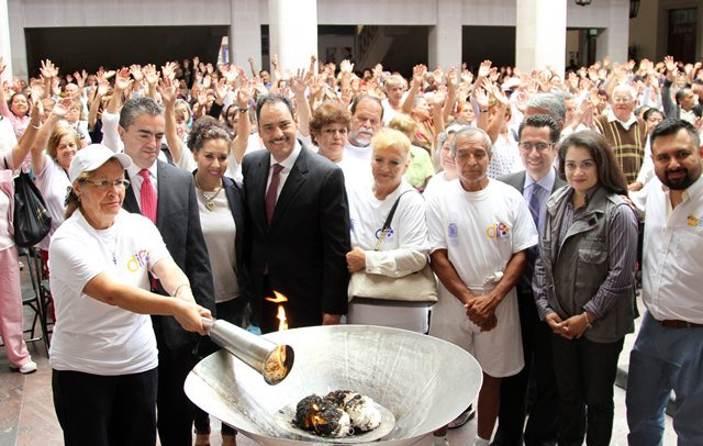 ¡Gobierno Municipal celebra XII Juegos Deportivos y Culturales de las personas adultas mayores!