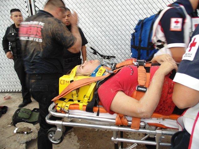 ¡Joven se salvó de morir tras caer a un agujero de 16 metros de profundidad en Aguascalientes!