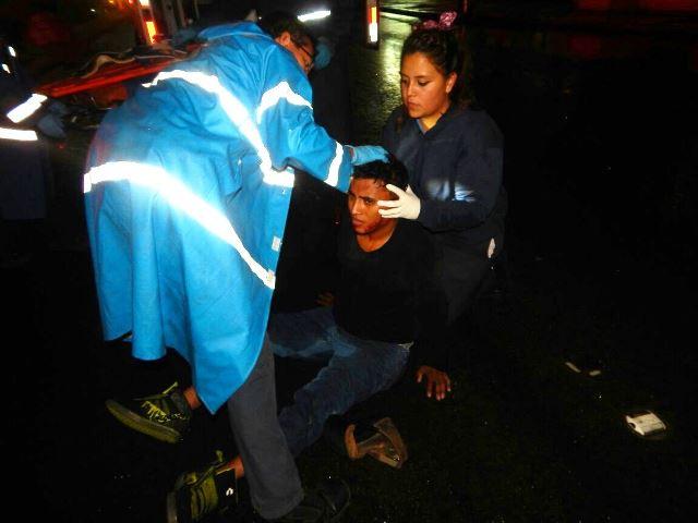 ¡Grave joven atropellado por una camioneta en Aguascalientes!