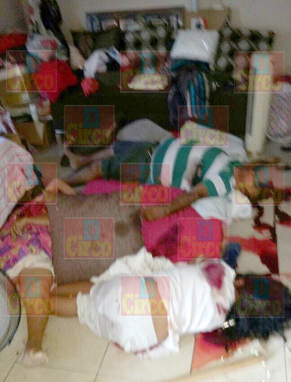 GALERIA/¡Masacran a dos familias en Ciudad Victoria, Tamaulipas; hay 14 muertos y 4 heridos!