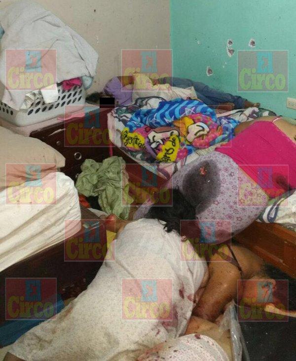 ¡Masacran a dos familias en Ciudad Victoria, Tamaulipas; hay 14 muertos y 4 heridos!