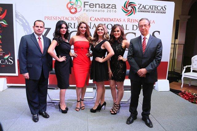 ¡Presentan a las candidatas a reina de la FENAZA 2016!