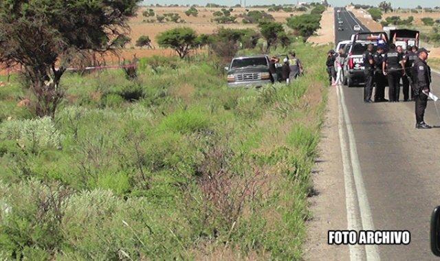 ¡Ciclista murió arrollado por un automotor en Zacatecas!