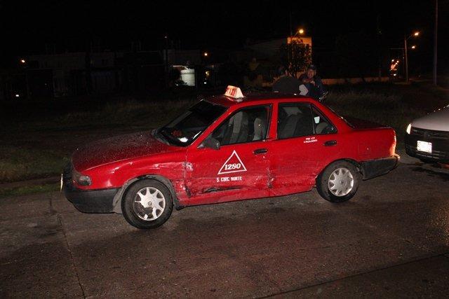 ¡Ebrio provocó fuerte choque en Aguascalientes con saldo de 4 lesionados!