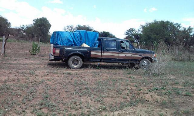 ¡Recupera la PEP mil 200 litros de diesel robados al tren y asegura dos camionetas en Ojocaliente, Zacatecas!