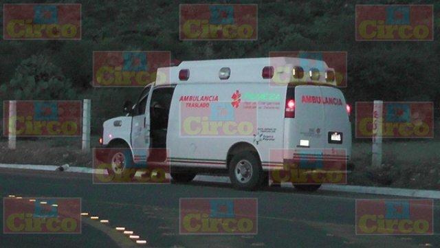 ¡Tras accidentarse, sujeto robó una ambulancia en Fresnillo pero fue recuperada!