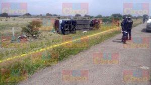 Un muerto y 17 heridos dejo el choque de un camión de pasajeros y un trailer en Zacatecas (2)