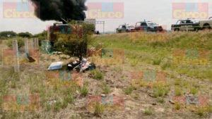 Un muerto y 17 heridos dejo el choque de un camión de pasajeros y un trailer en Zacatecas (4)