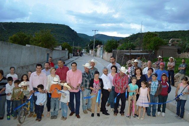 ¡Mejora infraestructura en El Maguey, Calvillo!