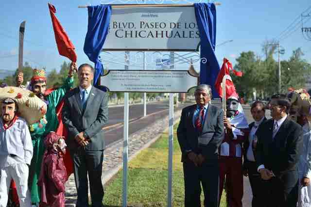 ¡Presenta Antonio Arámbula cambio de nomenclatura para dar paso al boulevard Paseo de los Chicahuales!
