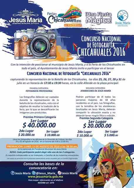 ¡Tercer Concurso Nacional de Fotografía de la Feria de los Chicahuales ofrece premios de hasta 40 mil pesos!