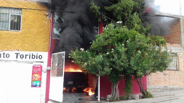 ¡Incendios acabaron con dos domicilios en Aguascalientes!