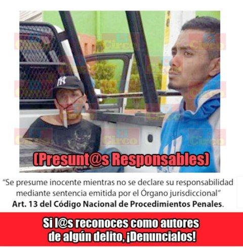 ¡3 asaltantes de Aguascalientes fueron detenidos en Fresnillo tras un robo!