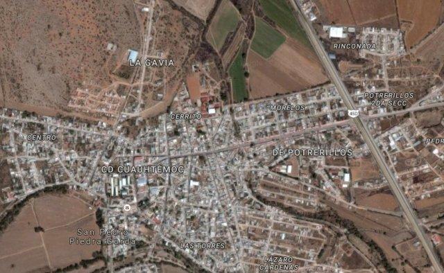 ¡Peligroso sujeto atacó a policías municipales y fue sometido a balazos en Zacatecas!