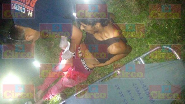 ¡Joven adicto fue baleado por custodios del ferrocarril en Lagos de Moreno!