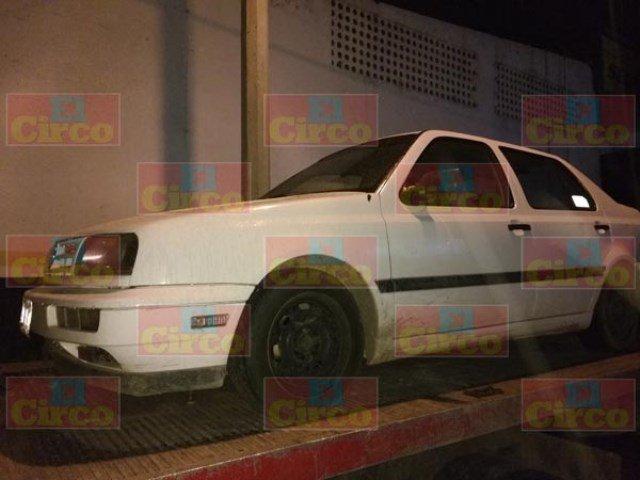 ¡Tras persecución atraparon a un robacoches en Lagos de Moreno!