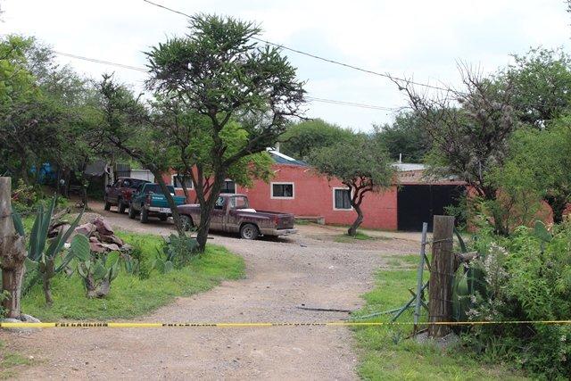 ¡Catearon la finca donde se refugiaron delincuentes que balearon a policías municipales en Aguascalientes!