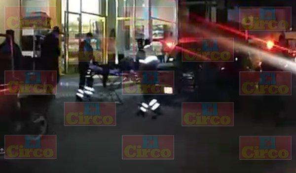 ¡Comando armado ataca funeraria en Fresnillo!/GALERIA