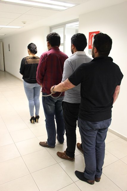 ¡Capturaron a 4 asaltantes de cuentahabientes en Aguascalientes!