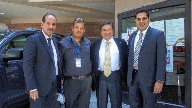 ¡Mandatarios de Aguascalientes realizan extensa gira de trabajo con migrantes mexicanos en Utah!