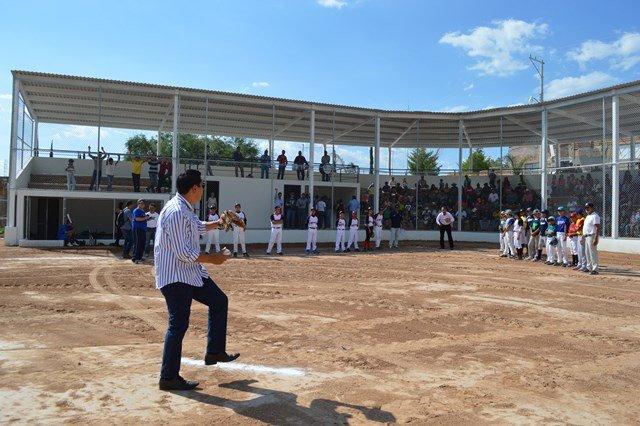 ¡Tres nuevas obras para el deporte en comunidades de Calvillo!