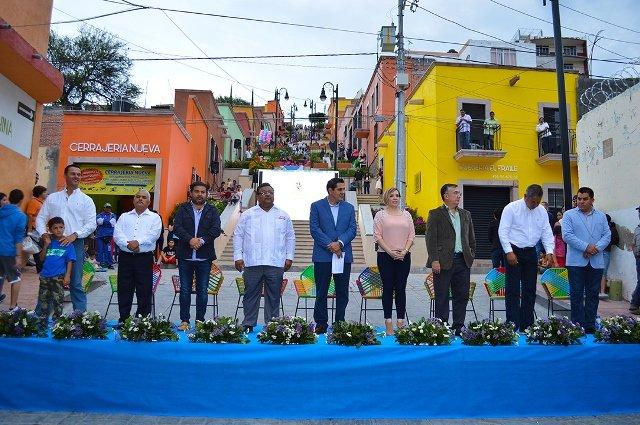 ¡Una calle tradicional de Calvillo se convierte en atractivo turístico al estilo Pueblo Mágico!