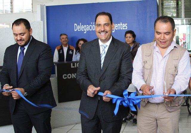 ¡Inaugura alcalde de la capital remodelación de instalaciones de la Delegación Insurgentes!