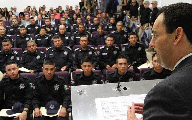 ¡Toma protesta nueva generación de policías municipales de Proximidad Social!