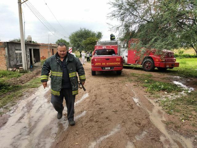 ¡Resultan dos bomberos lesionados por ataque de abejas en Aguascalientes!