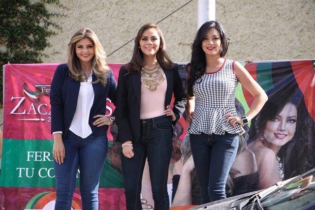"""¡Inician """"Feria en tu Colonia"""" las candidatas a reina de la FENAZA 2016!"""