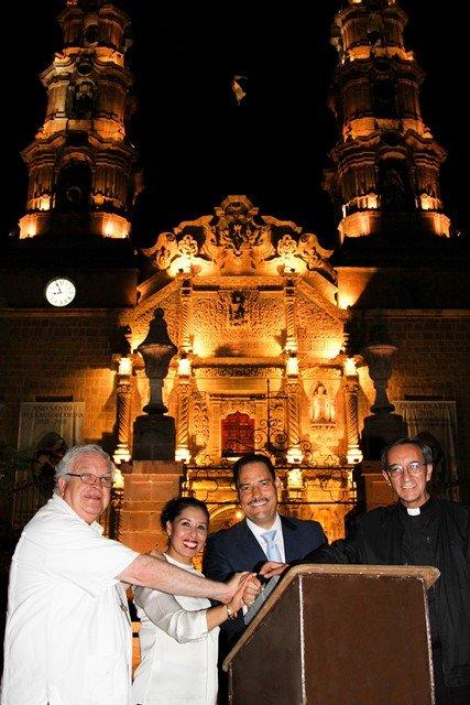¡Entrega Gobierno Municipal obras de rehabilitación en la Catedral Basílica!