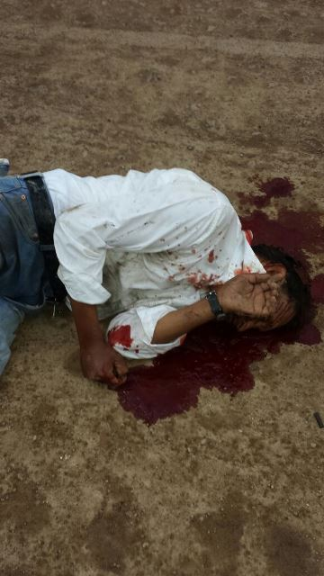 ¡Agoniza hombre degollado en Aguascalientes!