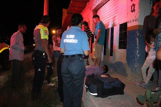 """¡Menor ciclista resultó lesionado tras ser embestido por un auto """"fantasma"""" en Aguascalientes!"""