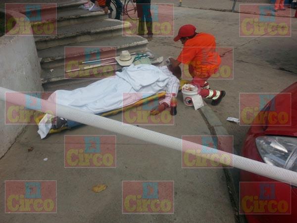 ¡Hombre murió de un infarto en Río Grande, Zacatecas!
