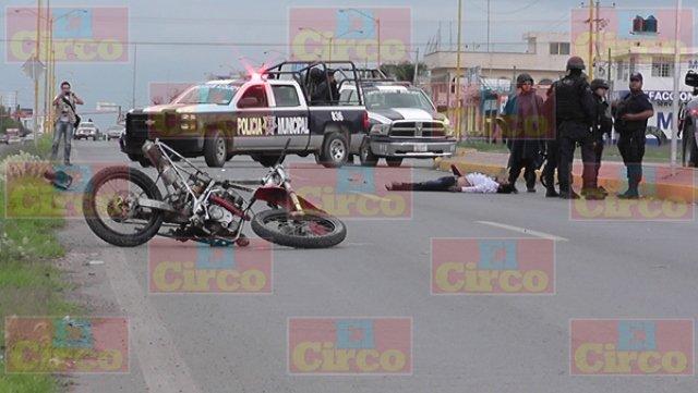 ¡Joven motociclista murió en desigual choque contra una camioneta en Fresnillo!