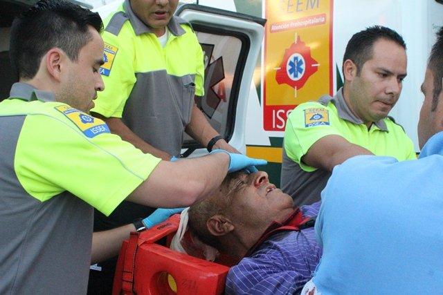 ¡Camión urbano embistió y mató a un ciclista en Aguascalientes!