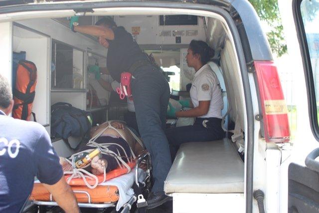 ¡Murió la mujer que se sumergió en un bordo en Aguascalientes!