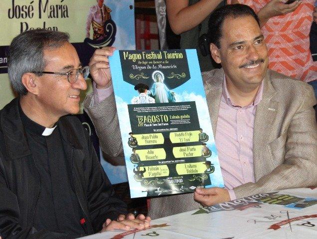 ¡Magno Festival Taurino del Gobierno Municipal en honor a la Virgen de la Asunción!