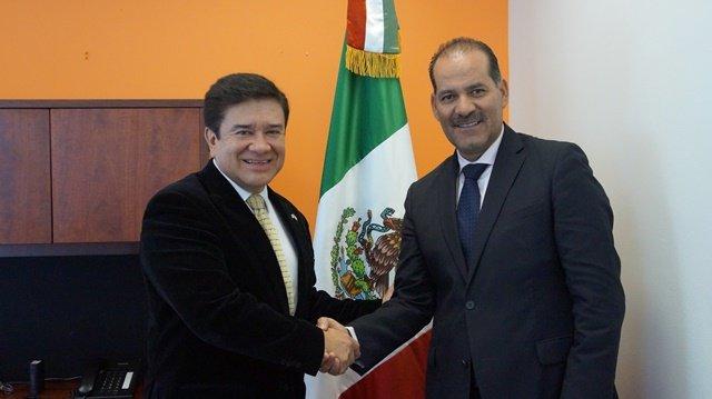 ¡Se reúne Martín Orozco con cónsul de México en Utah!