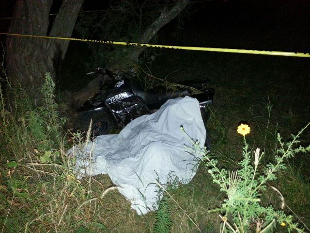 ¡1 muerto y 1 lesionado tras fuerte accidente en Calvillo, Aguascalientes!