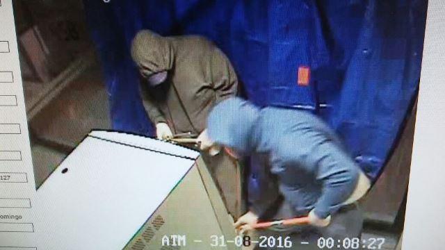 ¡Detuvieron a 2 sujetos que iban a saquear un cajero automático en Aguascalientes!