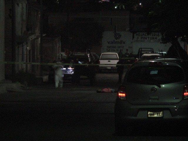 ¡Asesinaron a un pandillero de una puñalada en el pecho en Aguascalientes!