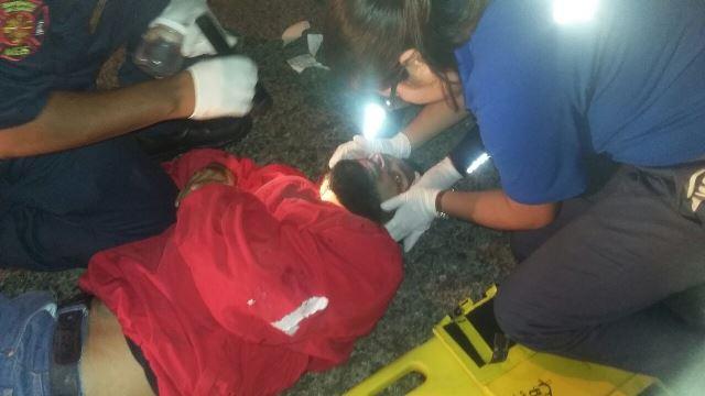 ¡Grave empleado atropellado por un vehículo en Aguascalientes!