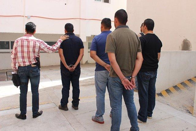 ¡Hasta 100 años de prisión podrían alcanzar los policías estatales secuestradores en Aguascalientes!