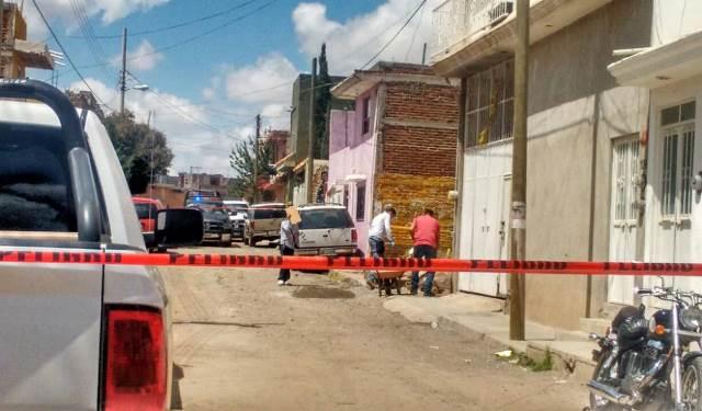 ¡Menor de edad fue acribillado a balazos en la vía pública en Zacatecas!