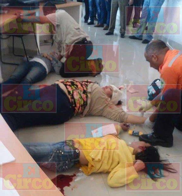 GALERÍA/¡Ataque en la Fiscalía de Jalisco: 2 muertos y 3 lesionadas de gravedad!