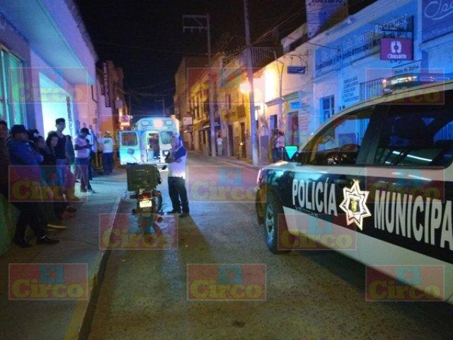 ¡Joven resultó lesionado tras ser baleado en Lagos de Moreno!